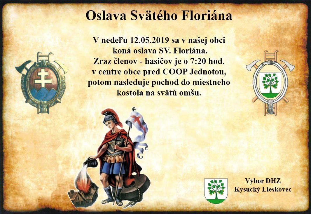 Oslava Svätého Floriána