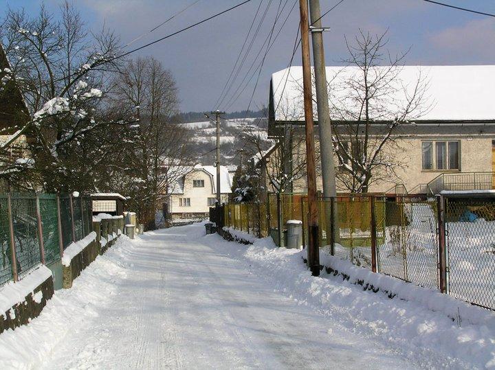 Zasnežená ulica