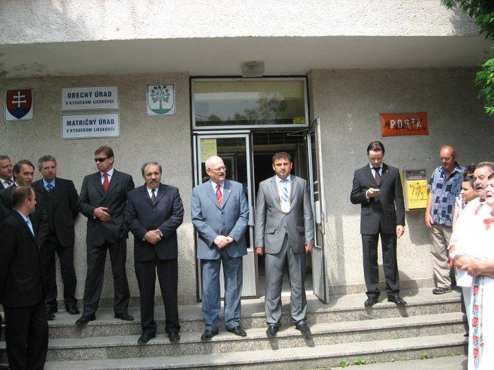 Prezident SR so starostom obce