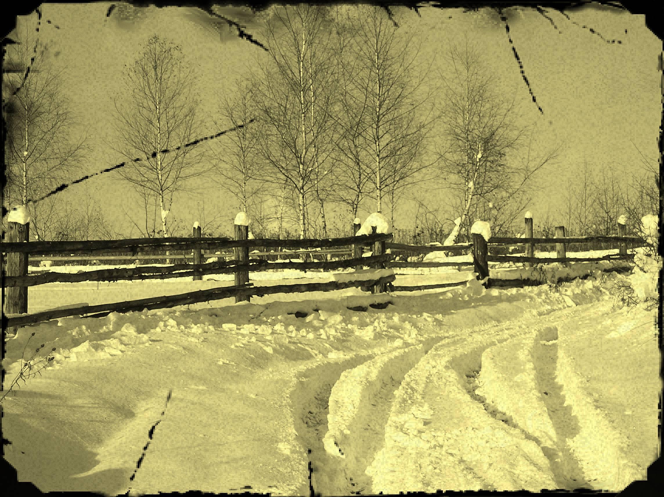 Kysucký Lieskovec - historia - zima