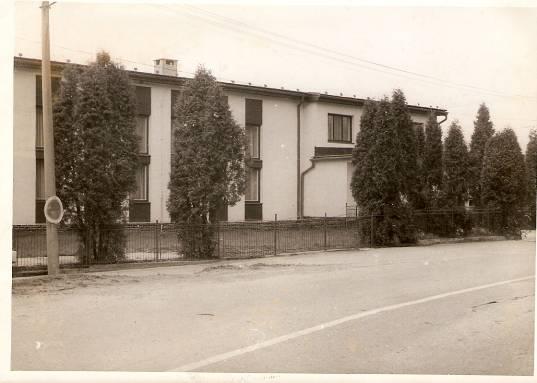 Stavba kultúrneho domu 1983