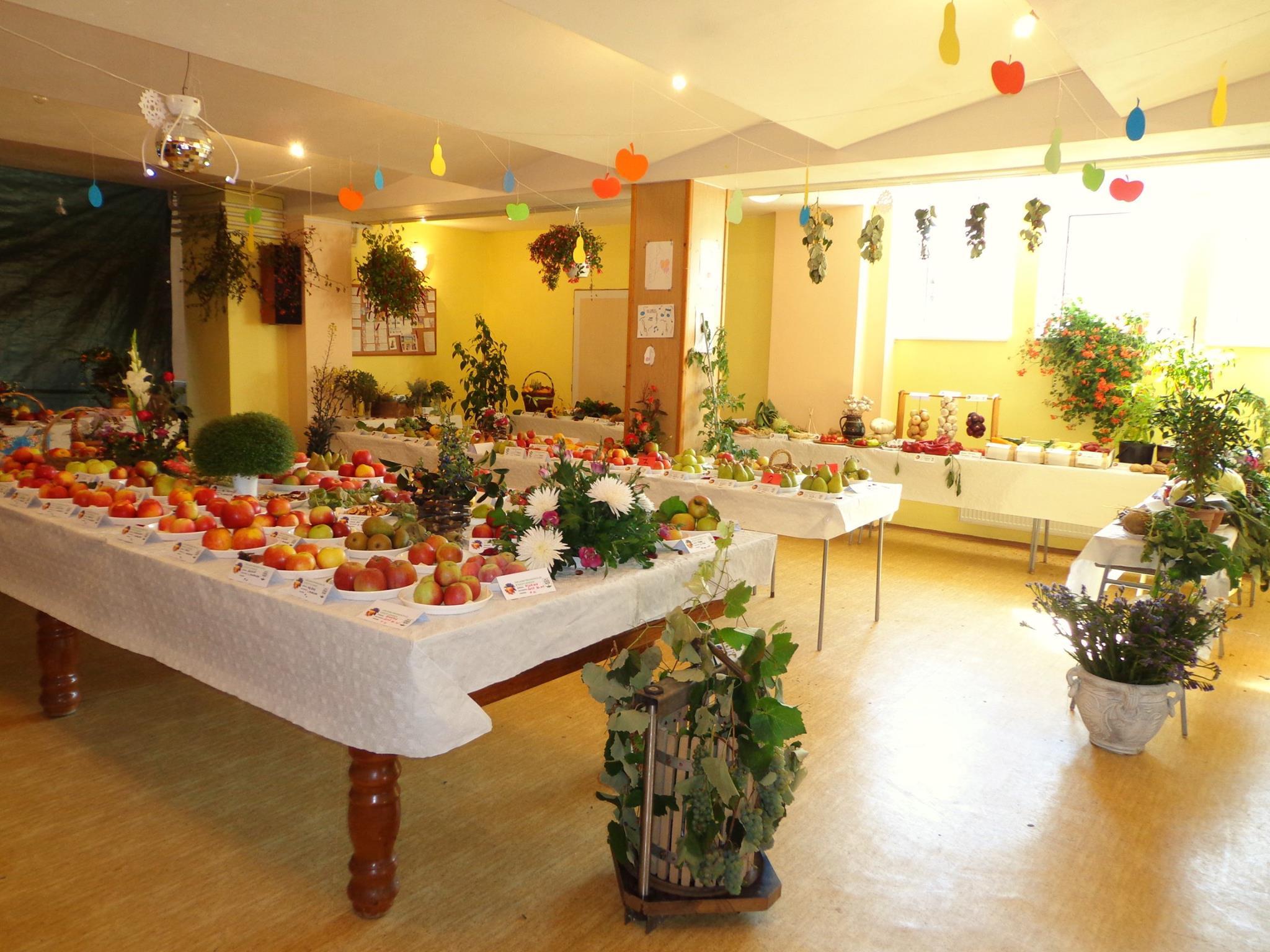 Výstava ovocia a zeleniny 2015