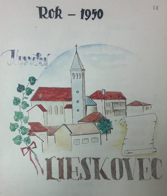 Kostol - maľba v kronike