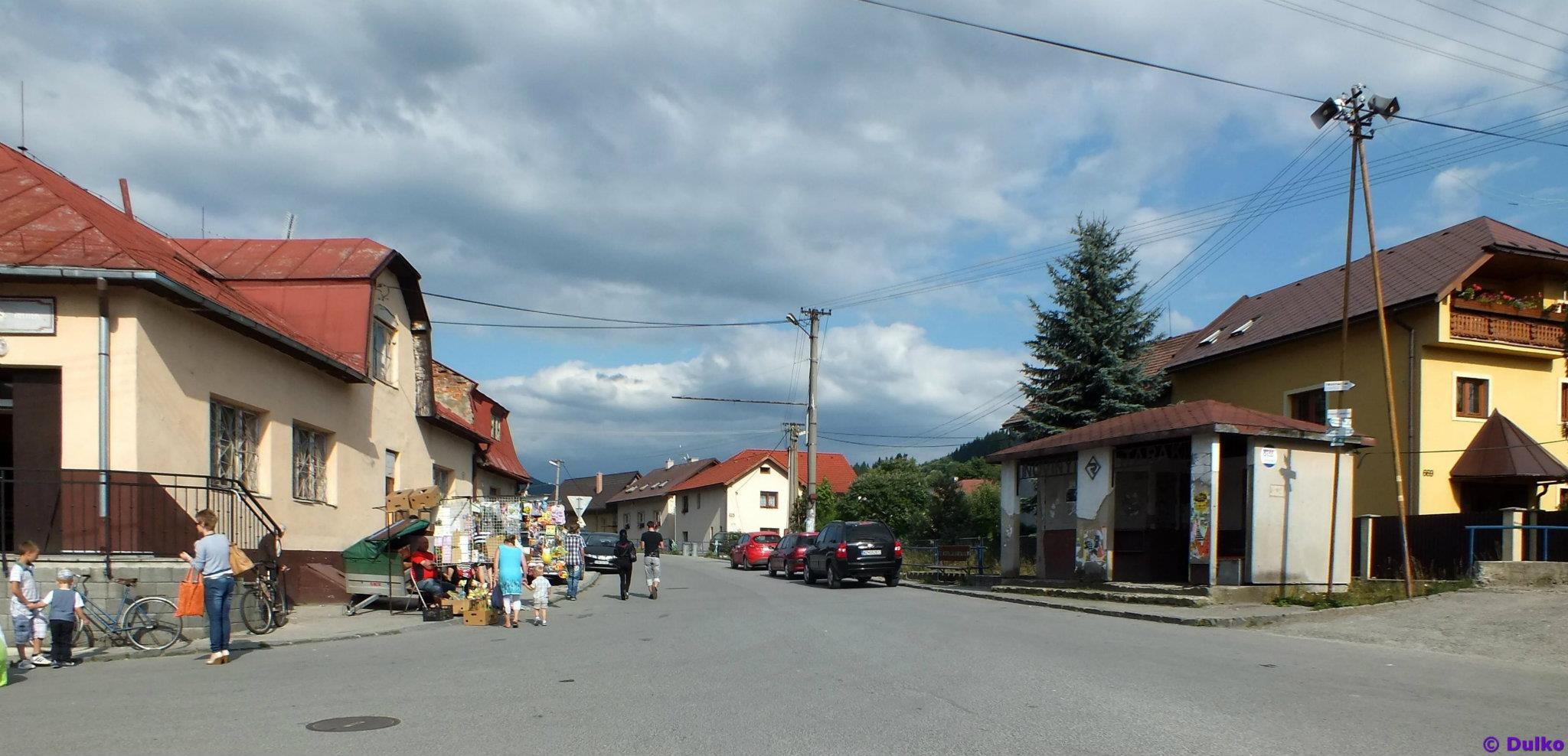 Centrum obce