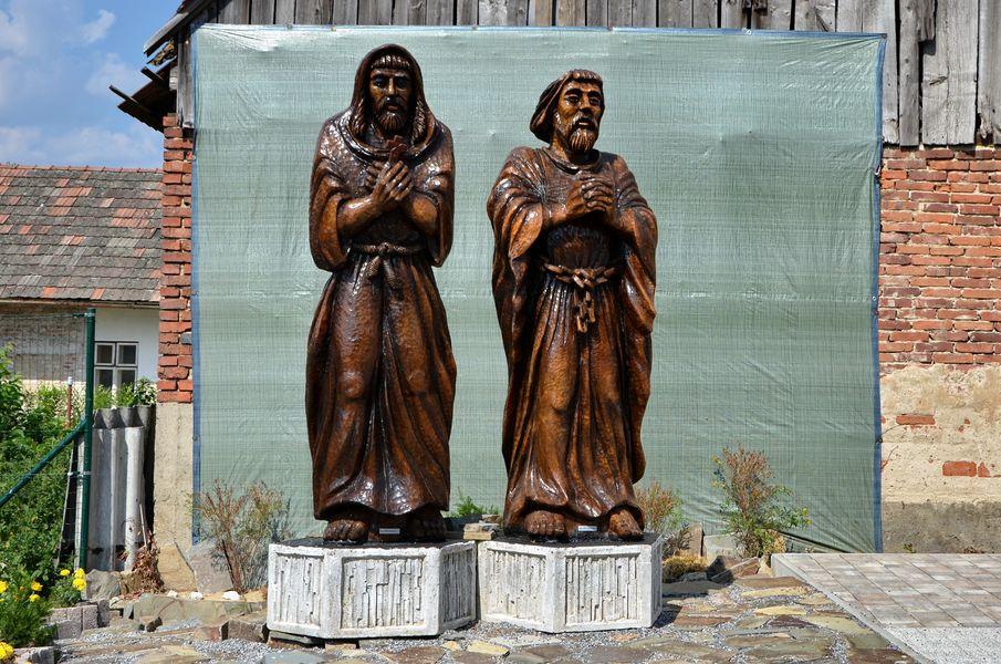 Svätí Andrej-Svorad a Benedikt