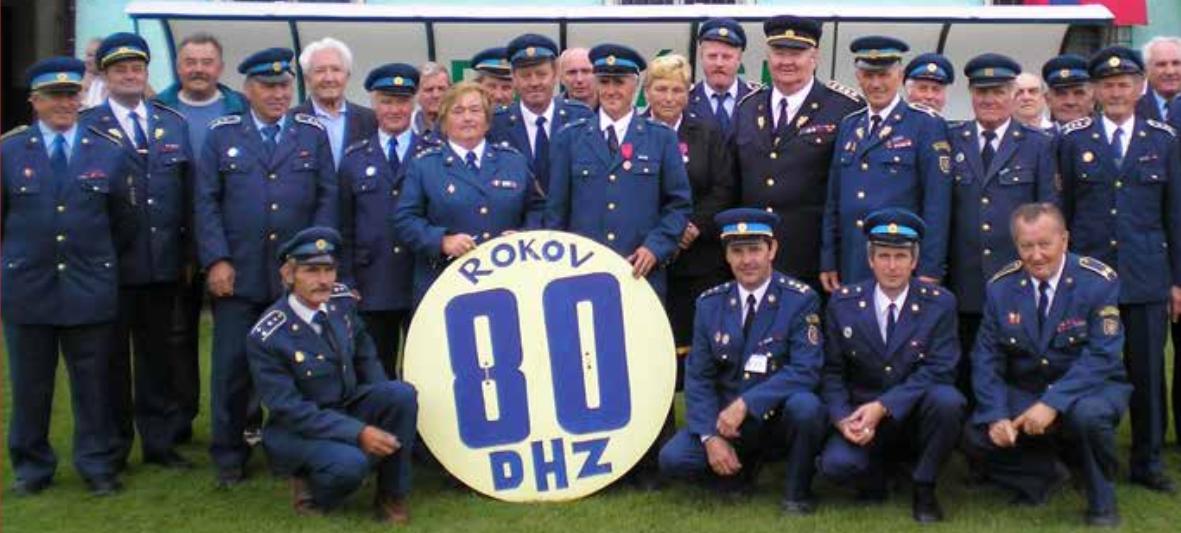 80. výročie založenia DHZ