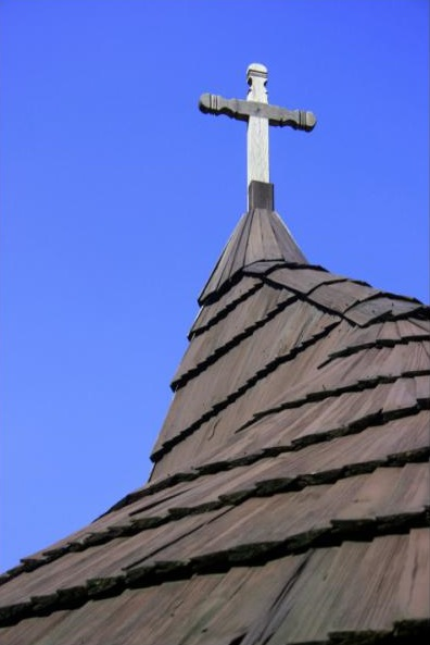 Kríž na kaplnke